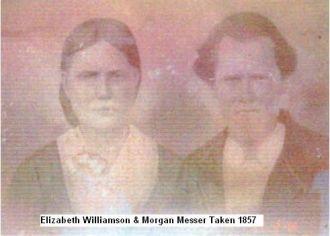 Morgan and Elizabeth Williamson Messer