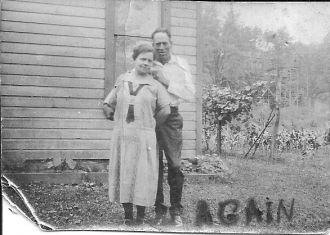 Great Grandfather Jesse Earl McCreay & Great-Grandmother Lillie Lousia Estle McCreary