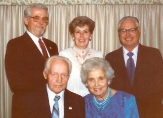 Lavon Osmond with Family