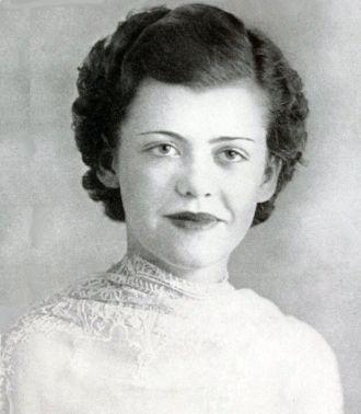 Rita Frances Adair, Georgia, 1937