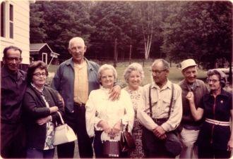 John Laurent & family, 1970's?