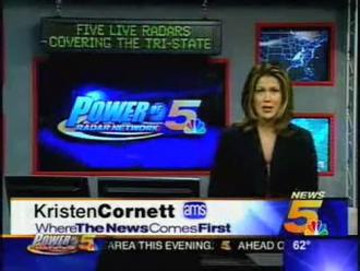 Kristen Cornett on WLWT News 5 (2004)