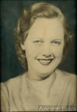 Chloris (Vincent) Gorden, my grandmother