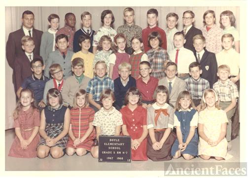 1967-68 Doyle Elem School, Grade 5