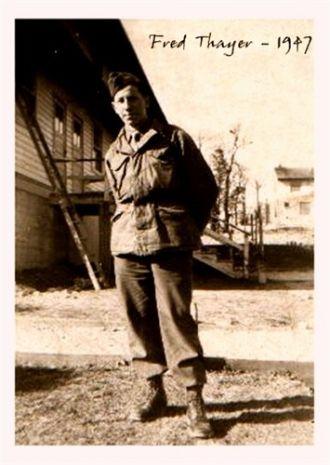 Frederick Richard Thayer