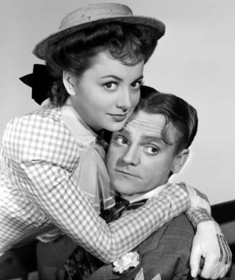 James Cagney and Olivia deHavilland