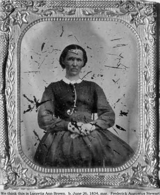 A photo of Lucretia Brown