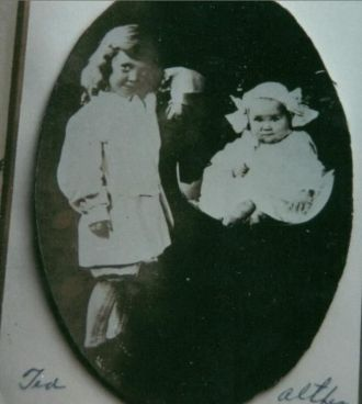 A photo of Theodor Floyd & Althea Christy ?