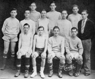 George Mather  & 1926 Soccer Team San Jose CA