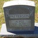 Alyce Derinda (Passmore) Patterson