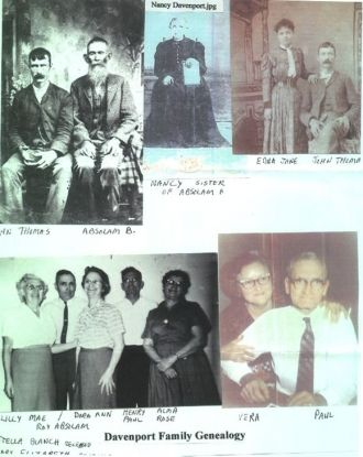 Pictorial Genealogy of the Davenport Family