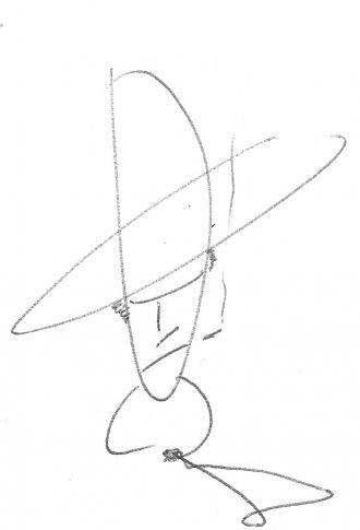 Gary Cooper's cartoon