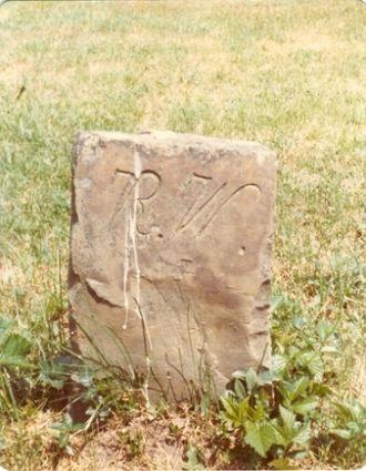 Rachel Ryder gravestone