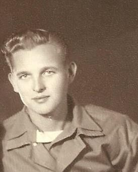 Richard Earl Coulson, circa 1944-45