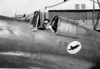 James Fazzi, P-40 Training