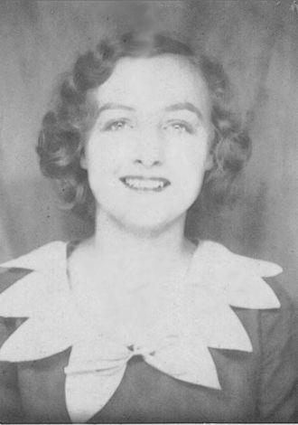 Emma Louise (Frost) Burkholder, 1936 Minnesota