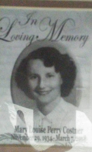 In loving memory of mother Mary Louise Perry
