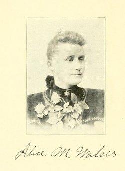 Alice Martha (Newman) Walser