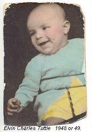 Elvin Tuttle baby photo