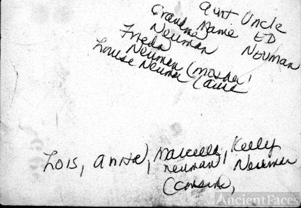 Anita Sears'  Neuman Family