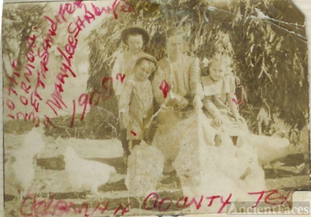 Otho, Ormond, Etta, Mary Lee Sandifer