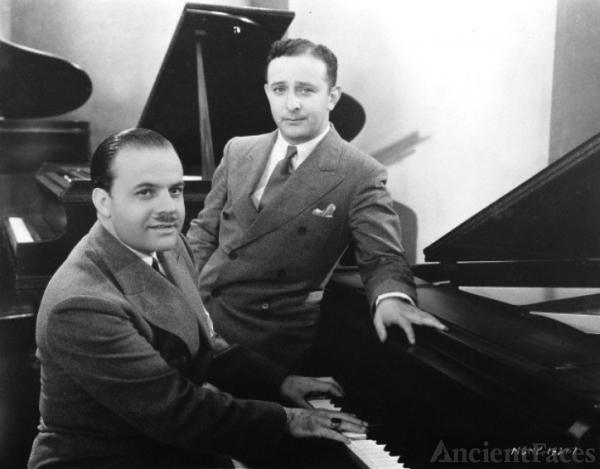 Nacio Herb Brown and Arthur Freed.