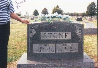 Stone Grave Fairmont Cemetery