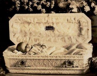 Baby In A Casket