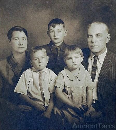Charles G. Burk family photo