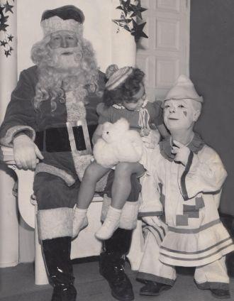 Santa & Zachariah Thomas Mackey Hargis