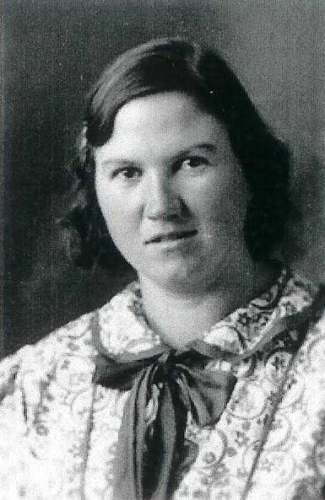 A photo of Anna Edith (Amelang) Smith