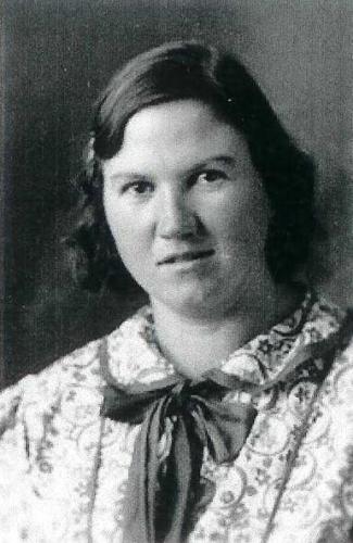 A photo of Anna Edith (Amelang) Smith