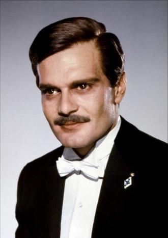 Omar Sharif in Black Tie.
