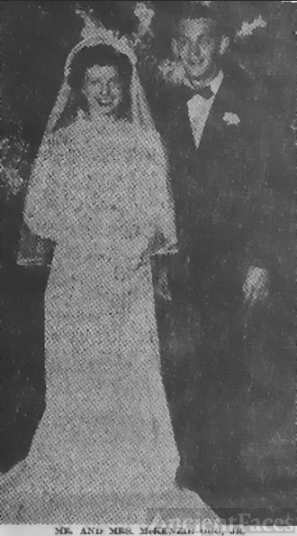 Mr. and Mrs. McKenzie Ogg, Jr.