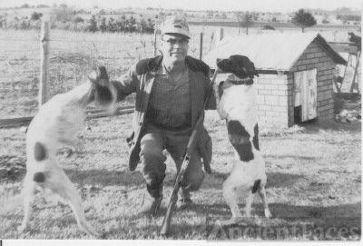 Leamon Delbert Coffman and dogs