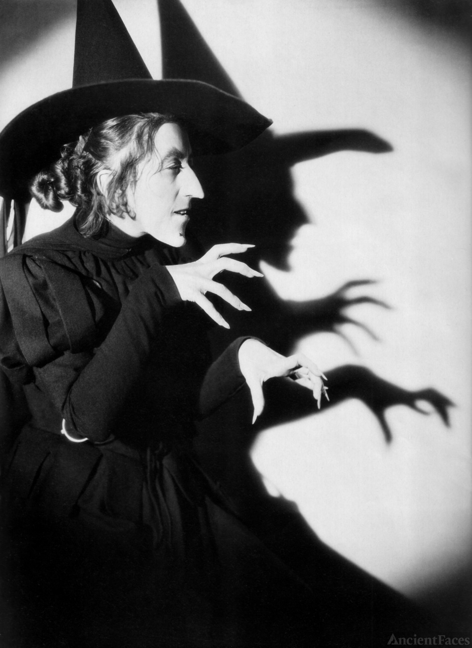 Witch in Wizard of Oz - Margaret Hamilton