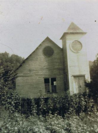 Rev. John Walker's church
