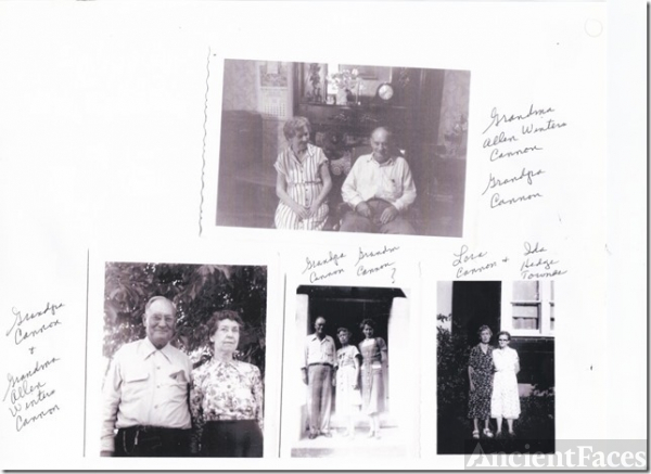 Everett Cannon & Lora Allen Winters