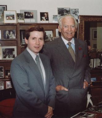 Douglas Elton Fairbanks Jr. and Steve Randisi