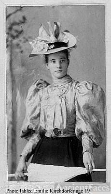 Emilie C Kirchdorfer, Kentucky Derby Day