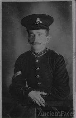 Corporal Sydney Harry, Royal Garrison Artillery