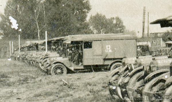U.S. Army ambulances - detail