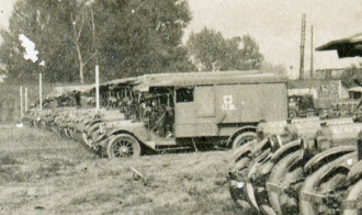 U.S. Army ambulances - detail