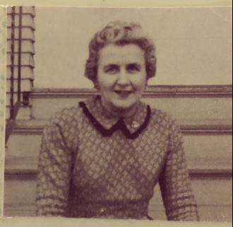 Unknown woman from the mid 1950's minnesota