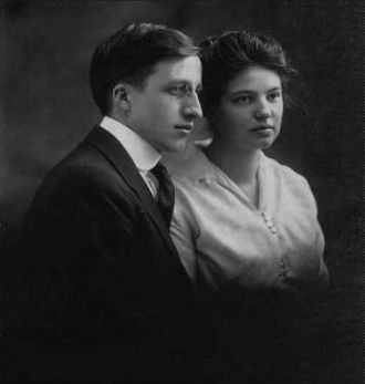 Henry Council & Idabelle Martin, 1916