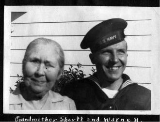 Barbara Missouri Portman Shortt and Grandson