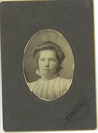Octavia Arnett of Abilene, TX