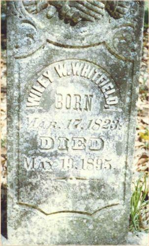 Wiley Whitfield Gravestone