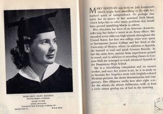 Margaret Mary Hannan