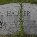 Claire C Hauser gravesite